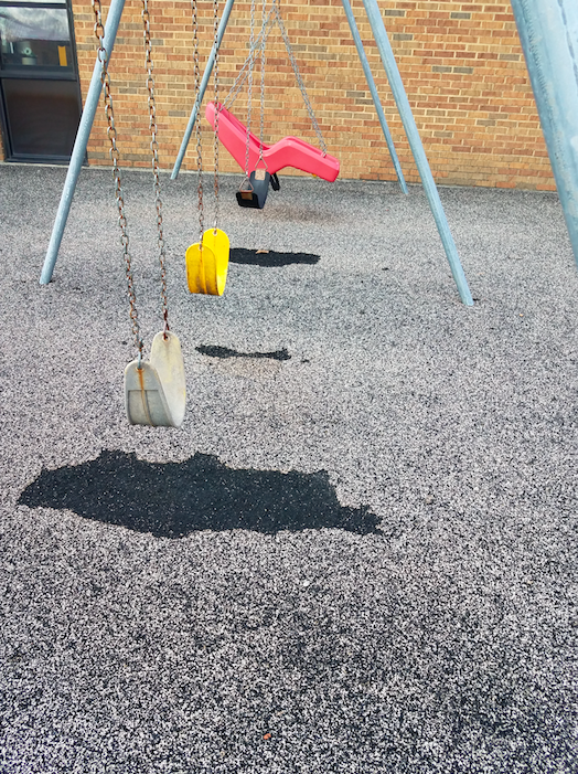 playground damage
